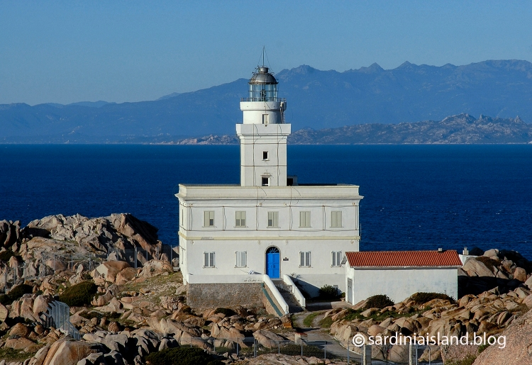 Lighthouse and panoramic view in Capo Testa